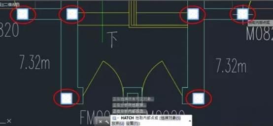 CAD填充图案的过程