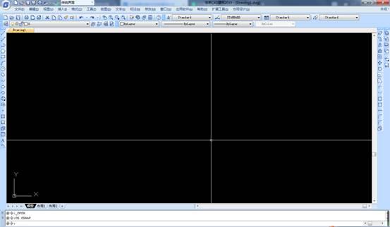 CAD工具栏的调出使用