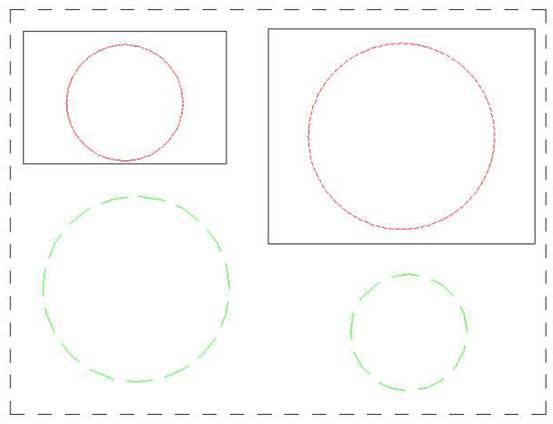CAD布局空间线型比例的设置