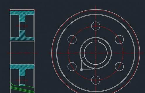 CAD绘制齿轮零件图步骤
