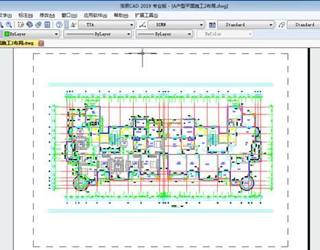 CAD视口边界设置