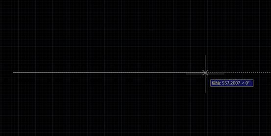 CAD画直线的时候长度不显示解决办法