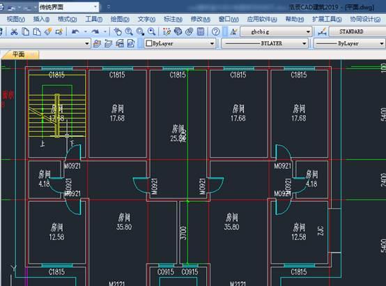 CAD建筑室内设计制图规范和技巧