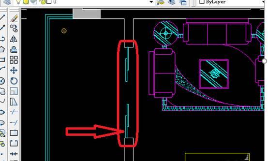 用CAD如何画阳台平面