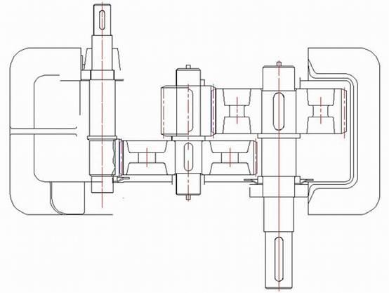 浩辰CAD机械_(20)减速器俯视图绘制