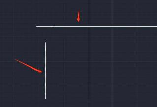 CAD两直线相交