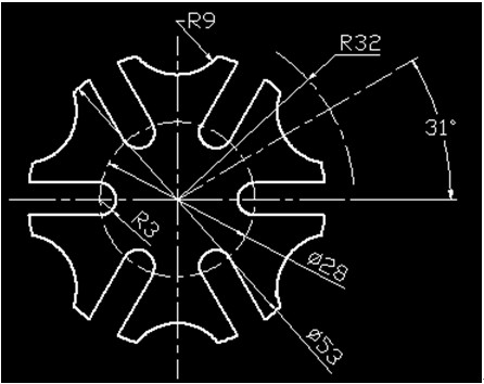 浩辰CAD机械_(29)齿形零件绘制