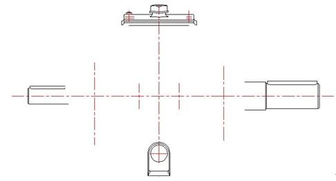 浩辰CAD机械_(26)二级斜齿轮减速器左视图绘制