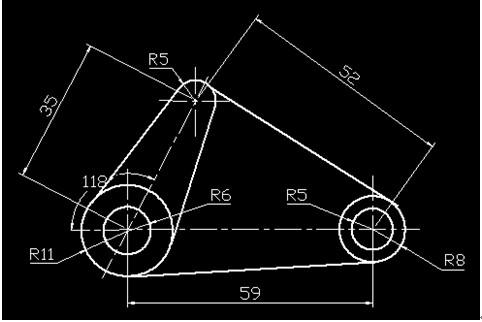 浩辰CAD机械_(31)公切线绘制