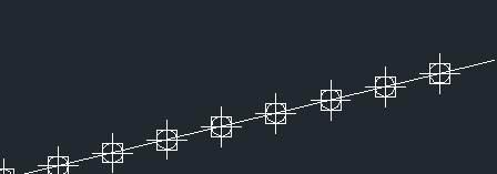 CAD定数等分教程之div定数等分后如何快速找到等分点
