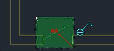 CAD拉伸命令STRETCH教程之捕捉自在拉伸STRETCH中的应用