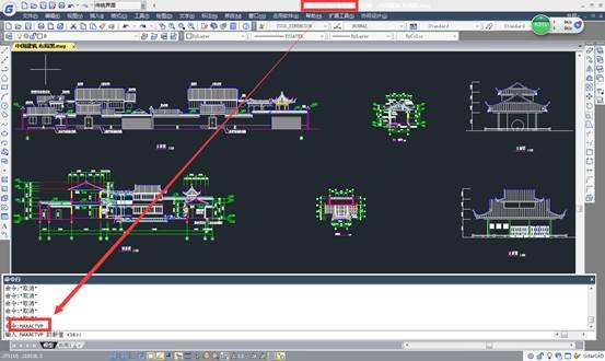 CAD模型空间教程之部分视口不显示模型空间中的对象