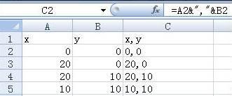 CAD坐标绘制曲线的过程