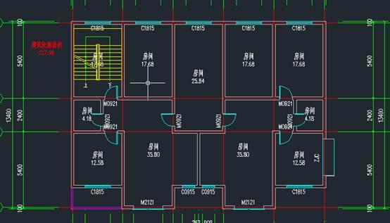 CAD绘制施工图预制空心板教程