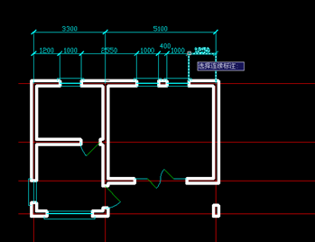 用CAD如何绘制建筑平面图