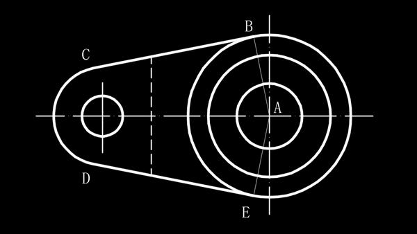 CAD椭圆弧和直线角度如何测量