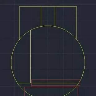 CAD修剪命令教程之修剪中没有边界线隔开但修剪时还会出现分段修剪