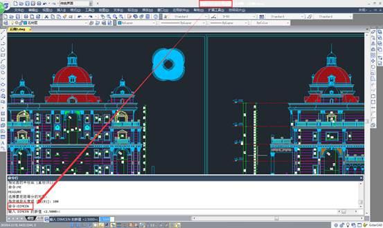 CAD快速画中心线教程之如何在CAD中快速绘制圆的中心线
