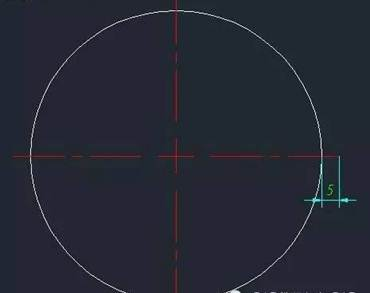 CAD快速画中心线教程之如何在CAD中快速画多个圆的中心线
