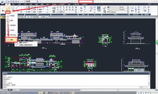 CAD画三维圆环教程之如何用CAD画三维圆环