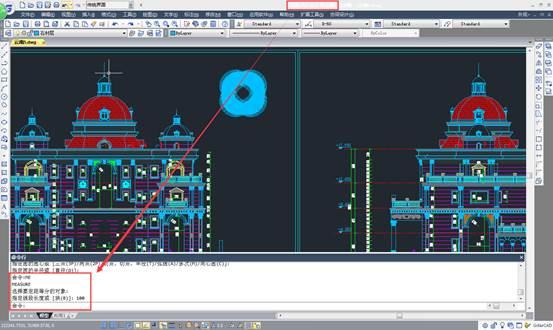 CAD等分圆形教程之如何在CAD中等分圆