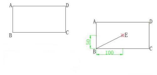 CAD坐标教程之如何用CAL命令来确定极坐标