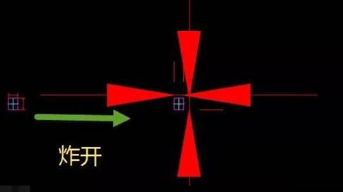 CAD标注箭头教程之为什么CAD图块炸开后里面的标注箭头变得很大