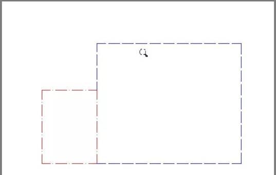 CAD模型空间教程之CAD模型空间中设置好的虚线到布局中却显示为实线