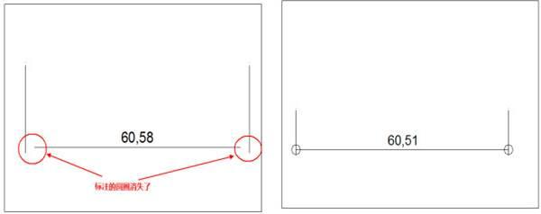 CAD标注箭头教程之为什么CAD冻结图层后其他图层标注箭头消失了