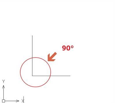 CAD不平行线段教程之用CAD快速找出两条不平行线段的交点并连线