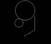 CAD画圆和圆环图形教程