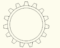 CAD绘制齿轮模型
