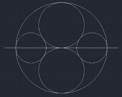 CAD画圆的教程