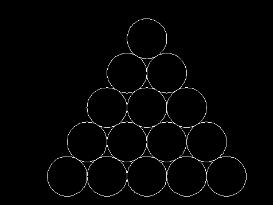 在一个三角形中CAD画圆相切的方法