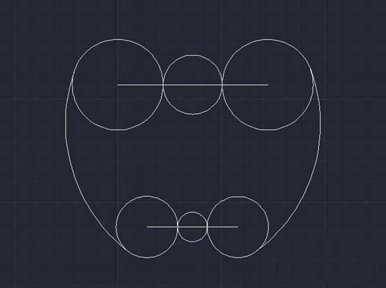 CAD绘制平面图教程之用CAD怎么画苹果的平面图