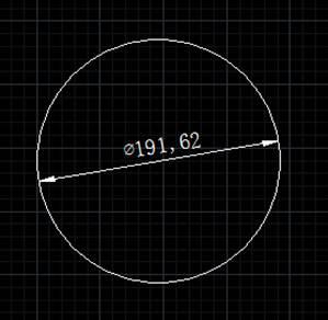 CAD直径标注教程之在CAD中为什么直径标注只有一个箭头