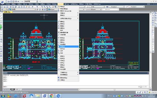 CAD拉伸教程之在CAD编辑命令中如何进行拉伸