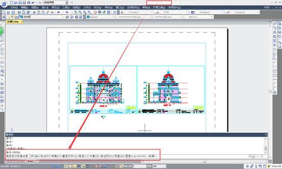CAD创建异形视口教程之浩辰CAD怎样创建异形视口