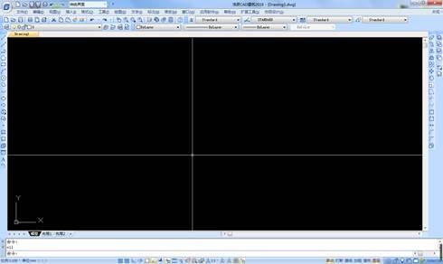 CAD恢复图形的过程