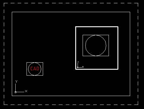 CAD视口显示对象的问题