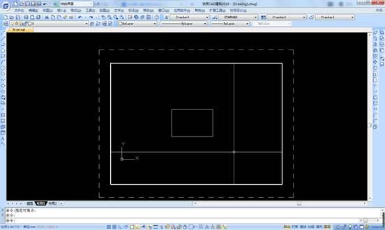 CAD布局视口的锁定