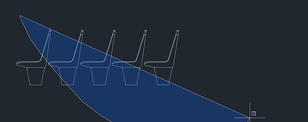 CAD窗口选择不是矩形怎么办
