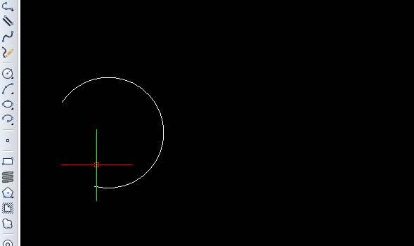 CAD画弧线的教程