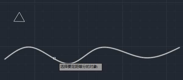 CAD定距等分教程之让特定图形沿某一曲线排列的方法
