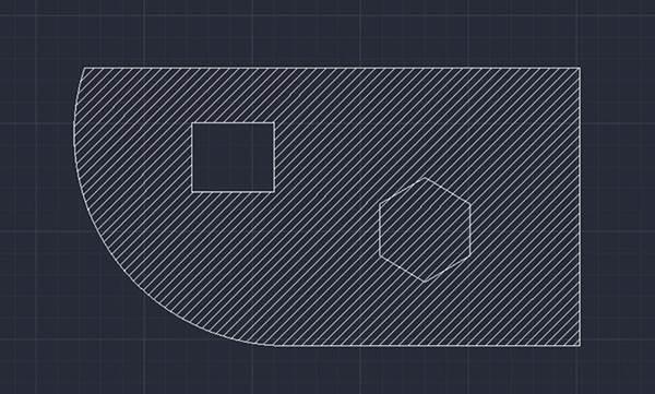 CAD填充图案教程之CAD如何修剪图案填充