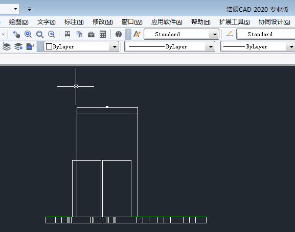 CAD打印消隐效果打印