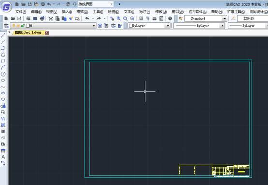 CAD打印边框如何去掉?