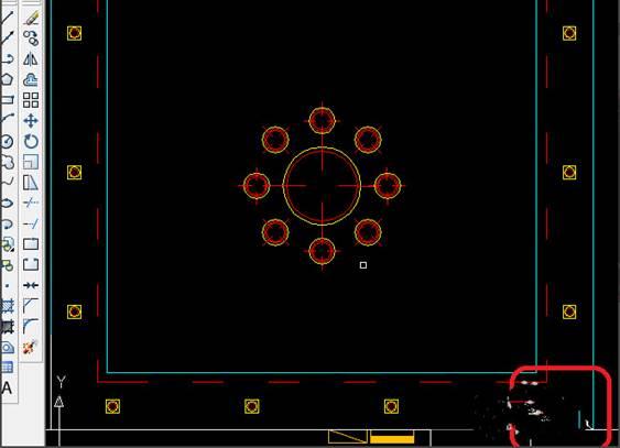 CAD制图初学入门教程:用CAD如何画客厅开关布置图