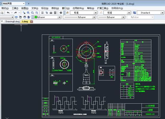 CAD打印图纸关于模型空间出图方法