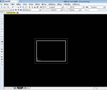 CAD布局背景颜色设置
